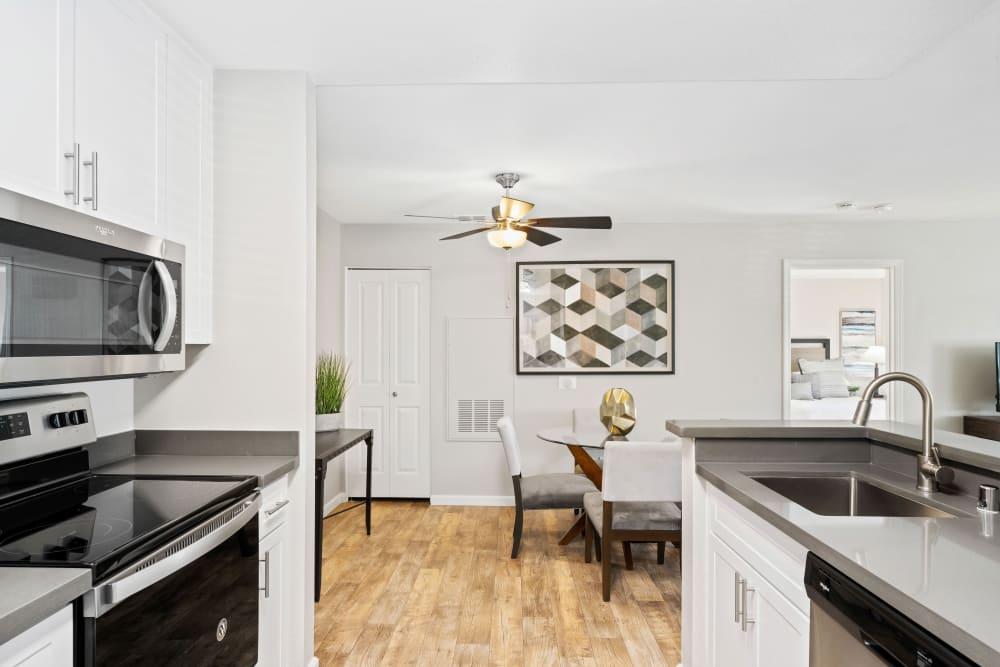 Beautiful, gourmet kitchen in a model home at Shaliko in Rocklin, California