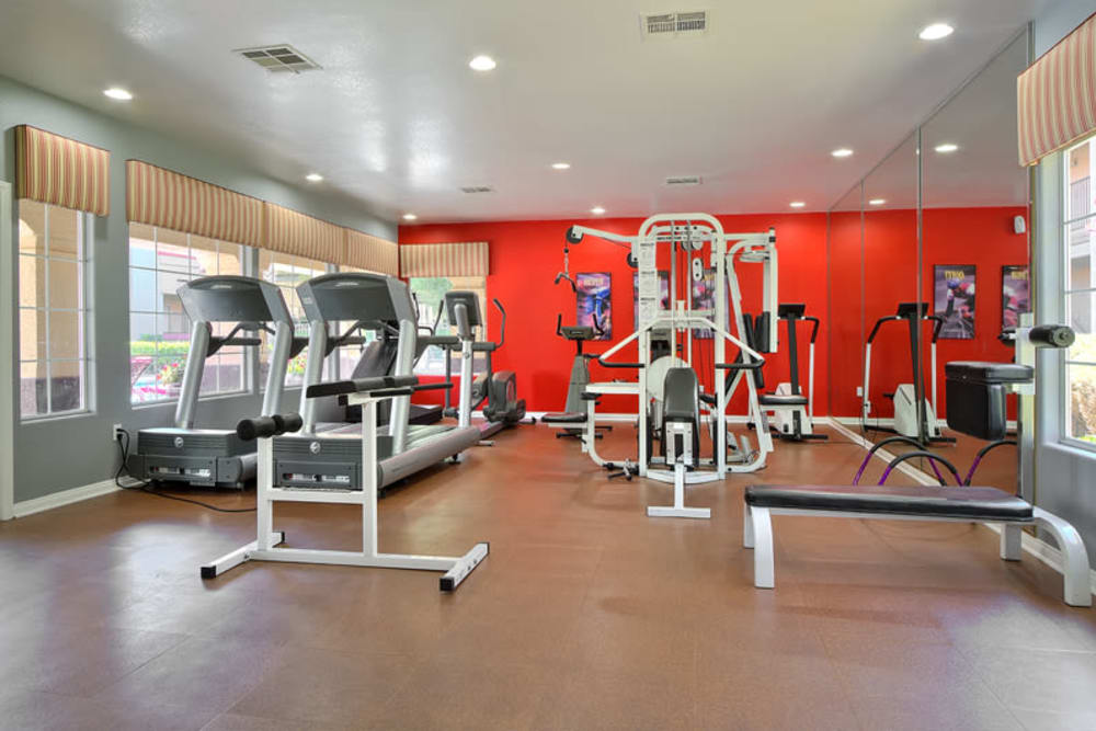 Fitness center at Mariner at South Shores in Las Vegas, Nevada