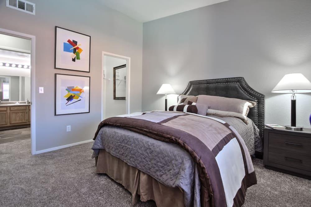 Bedroom at Mariner at South Shores in Las Vegas, Nevada