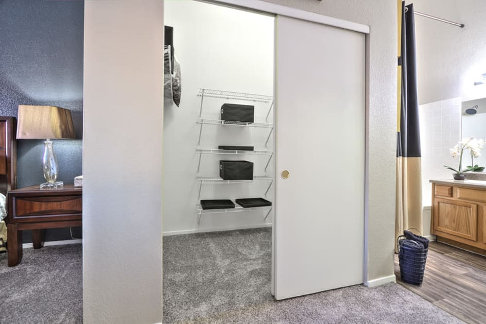 Spacious Closets at Apartments in Las Vegas, Nevada