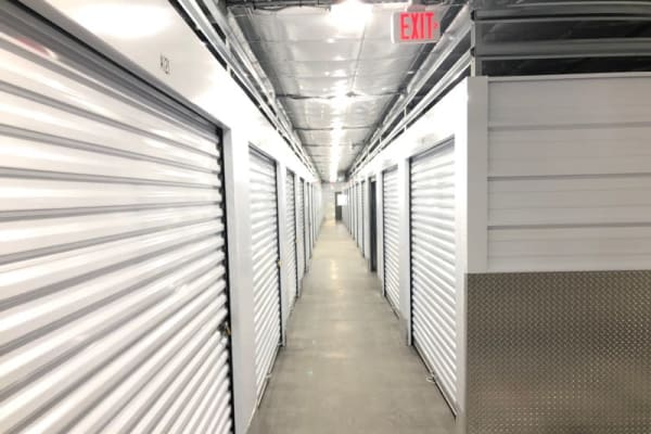 climate-controlled storage units at CT SELF STOR in Middletown, Connecticut.
