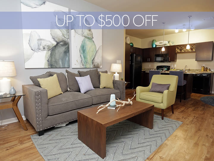 Claim Up to $500 Off Your First Month's Rent