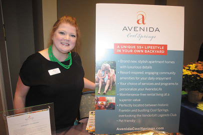 Avenida Cool Springs senior living apartments in Franklin, Tennessee