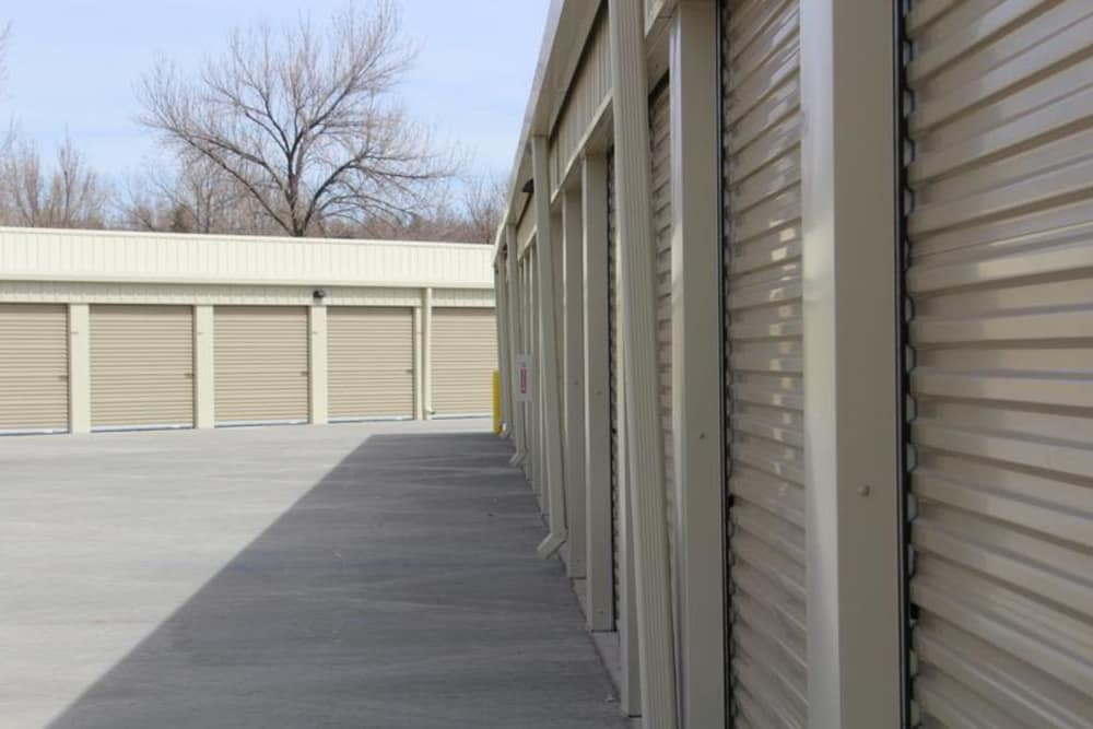 Self storage areas at Mesa Ridge Self Storage