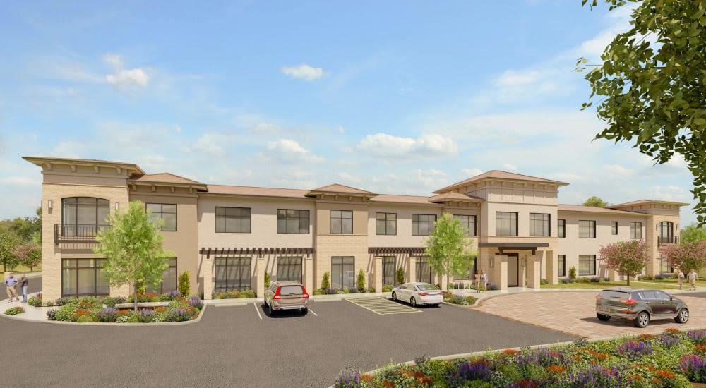 Rendering of Carefield Living Citrus Heights in Citrus Heights, California.
