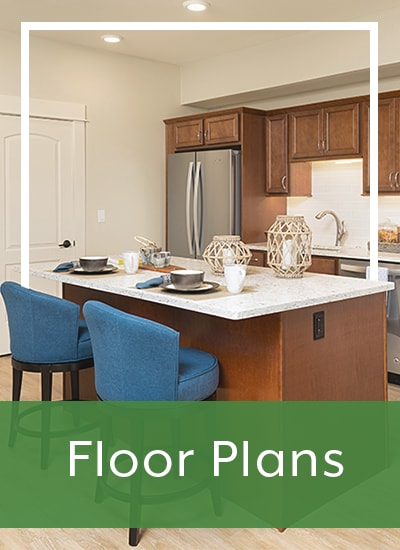 Floor plans at Touchmark at Harwood Groves in Fargo, North Dakota