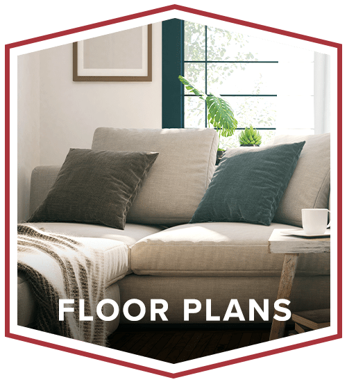 Floor plans at Exeter Place in San Antonio, Texas
