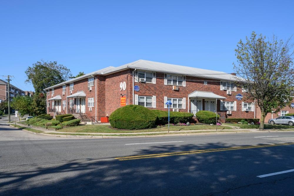 Exterior of 84-90 Essex Street in Hackensack, New Jersey