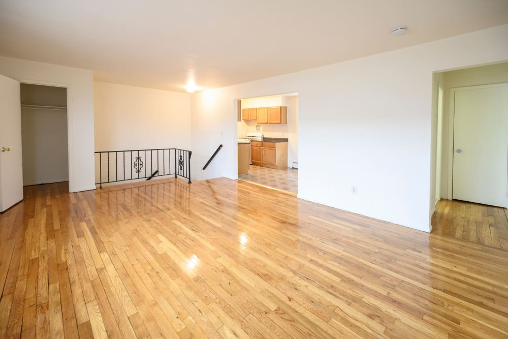 Large living room at 84-90 Essex Street in Hackensack, New Jersey