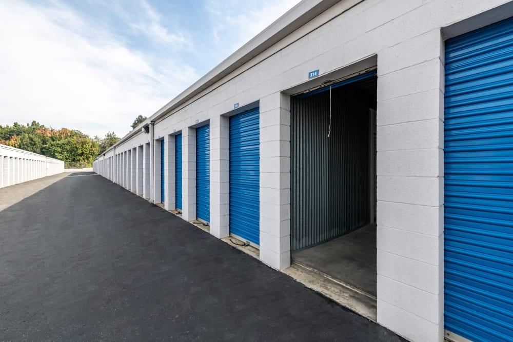 Exterior storage units at Storage Etc... Diamond Bar in Diamond Bar, CA
