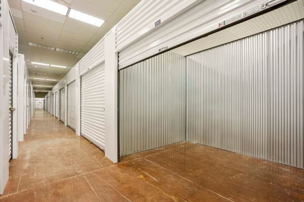 Temperature controlled storage units at Global Self Storage location