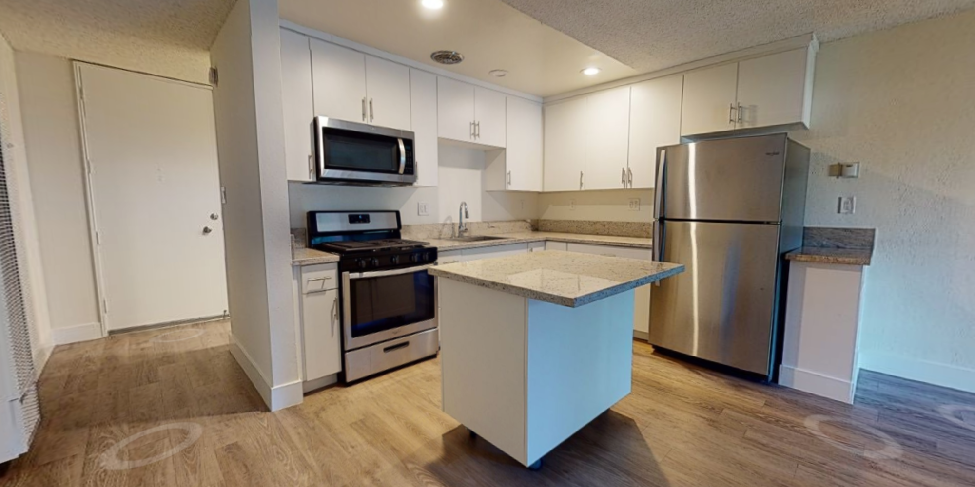 View a virtual tour of our studio apartments at Mediterranean Village in West Hollywood, California