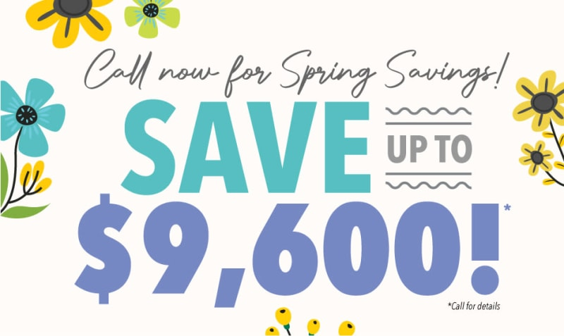 Saunders House spring savings