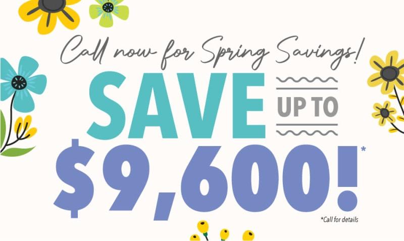 Homestead House spring savings