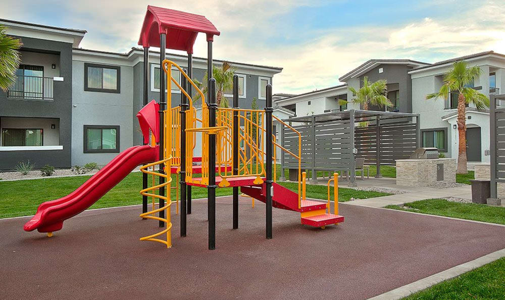 On-site playground at SW Apartments in Las Vegas