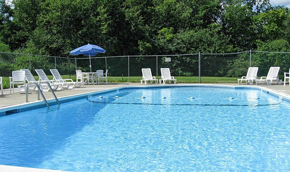 Swimming pool at Hillcrest Village in Niskayuna, New York