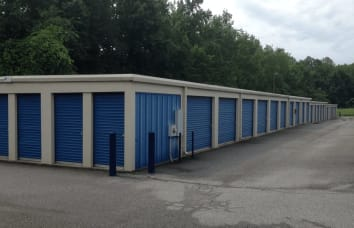 Self storage serving in Greensboro, North Carolina
