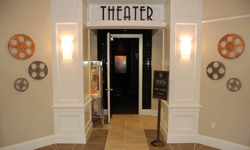 Theater at Chelsea Place in Toledo, Ohio