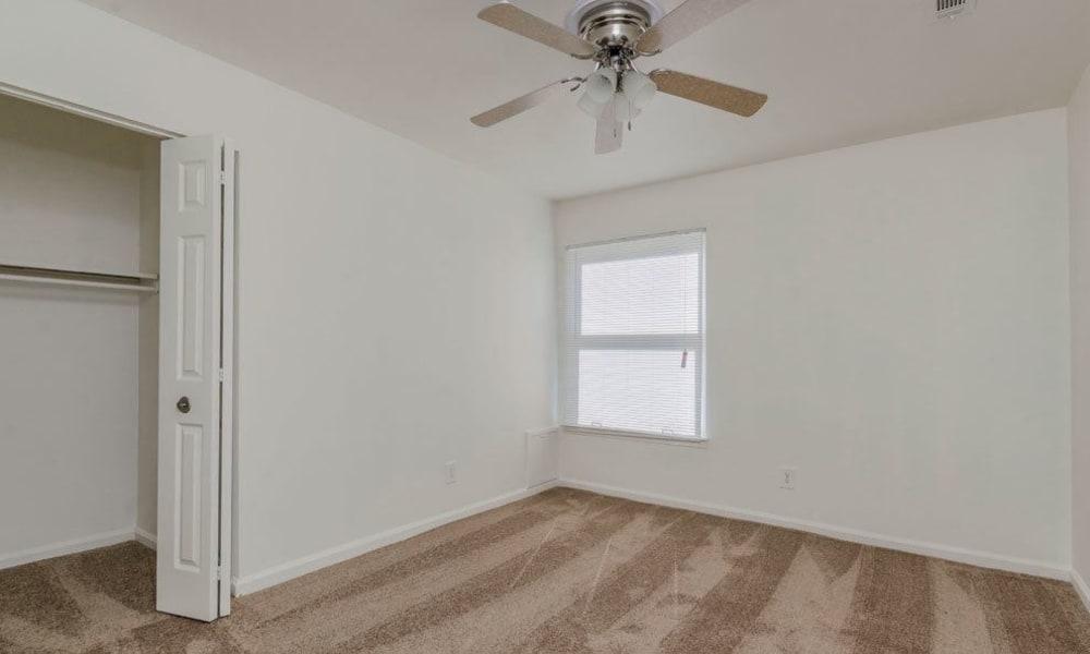 Bedroom at Eagle Meadows Apartments in Dover, Delaware