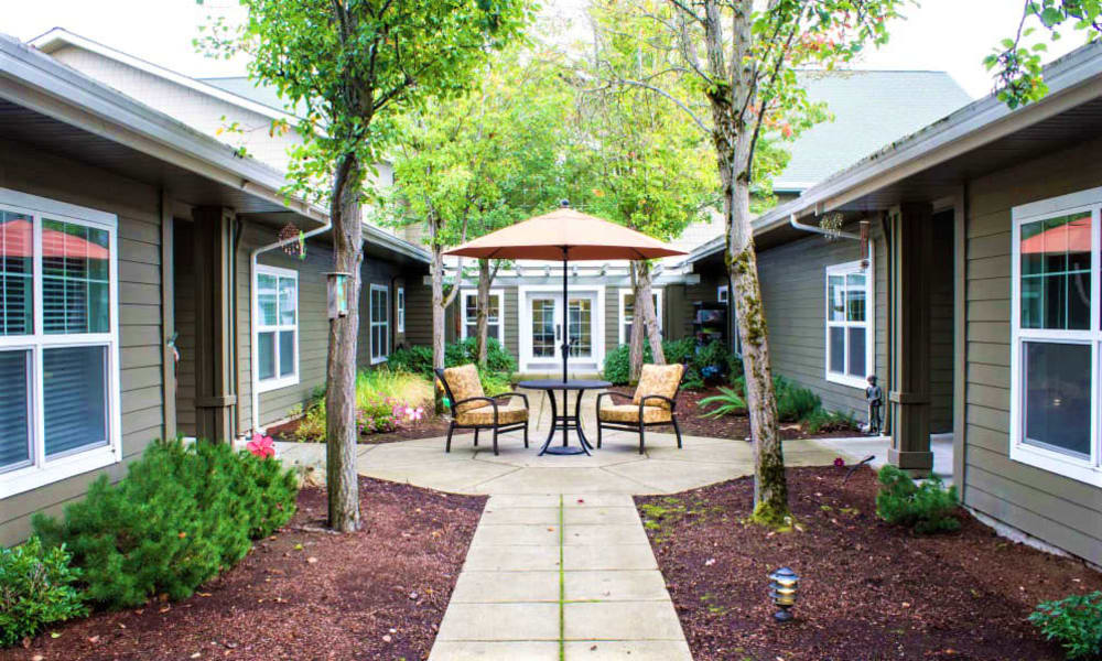Courtyard at Evergreen Memory Care