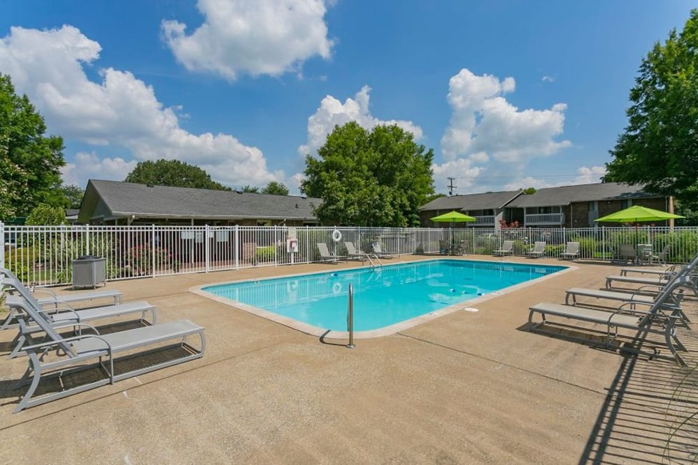 Swimming Pool at Magnolia Place Apartments