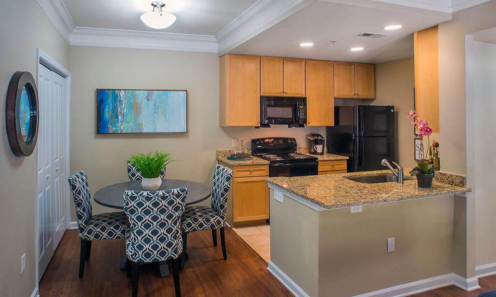 Spacious kitchen at Atkins Circle in Charlotte, North Carolina