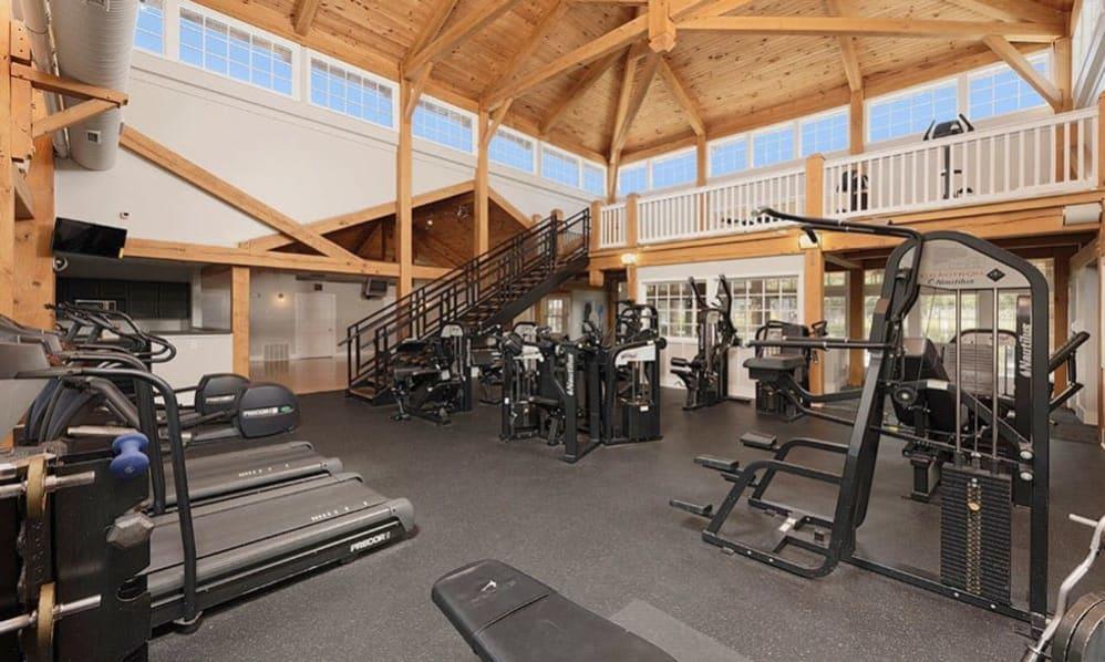 Spacious Fitness center at Atkins Circle in Charlotte, North Carolina