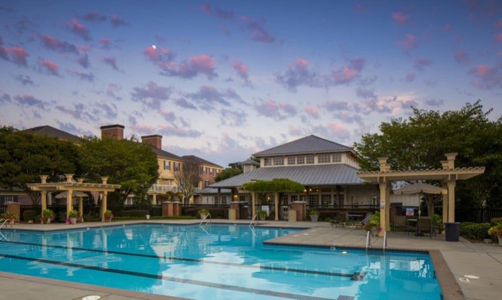 Sparkling Swimming pool at Atkins Circle in Charlotte, North Carolina