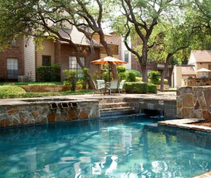 Resident pool at Carmel at Deerfield in San Antonio, Texas