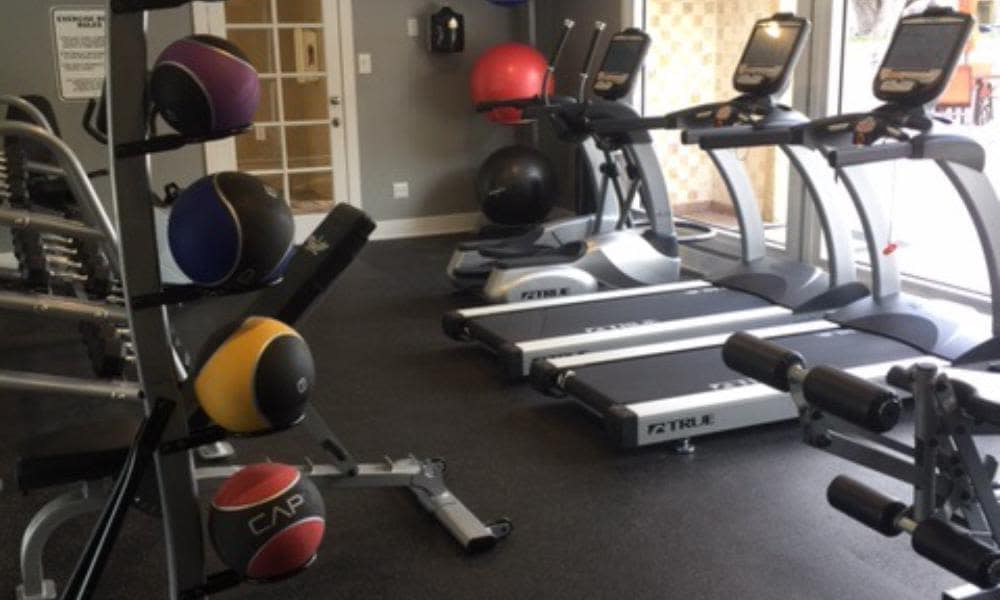 Fitness Center at Palmetto Place Apartments in Kendall Miami