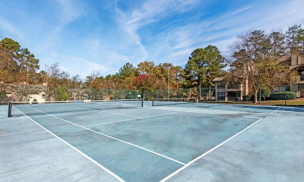 Tennis court at Beech Lake Apartments in Durham, NC