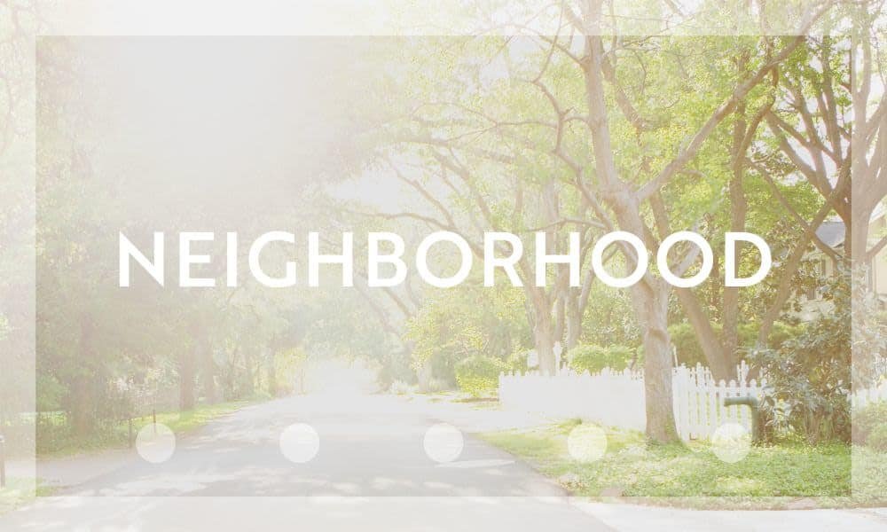 neighborhood at Broadstone Heights