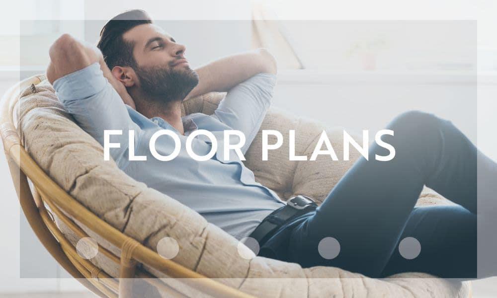Floor plans at Cornerstone Ranch Apartments