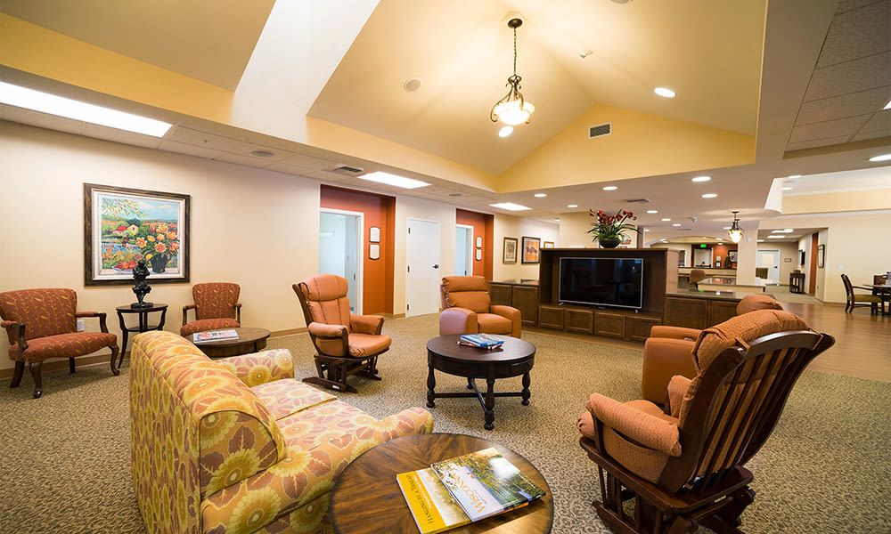 Memory Care neighborhood at Touchmark at Mount Bachelor Village in Bend, Oregon