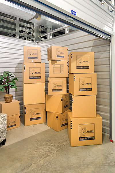 Image of large storage units