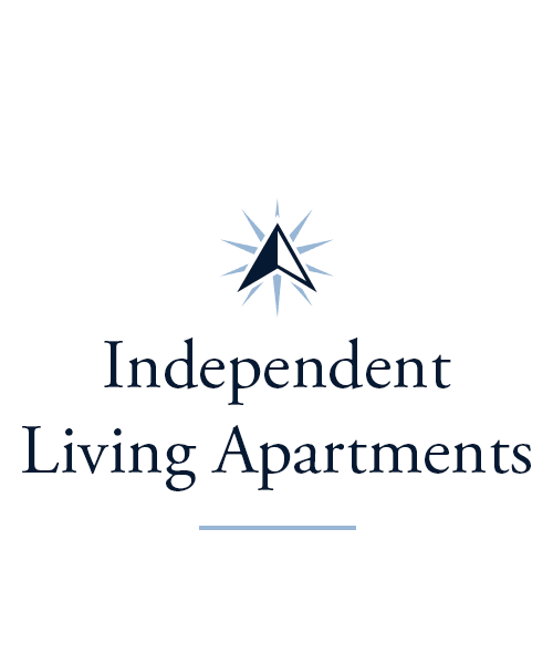Independent living Apartments at The Glen in Cincinnati, Ohio