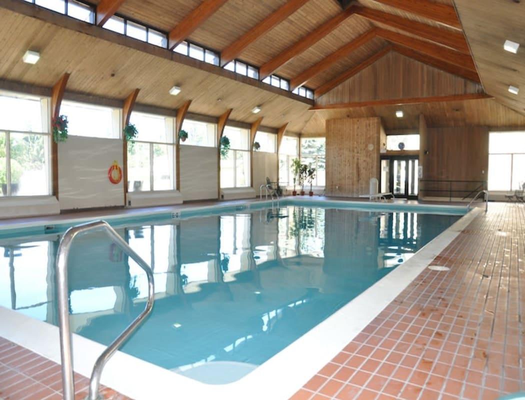 Swimming pool at Glenmore Gardens in Calgary, Alberta