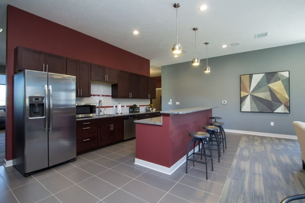 Clubhouse layout at The Summit at Sunnybrook Village in Sioux City, Iowa