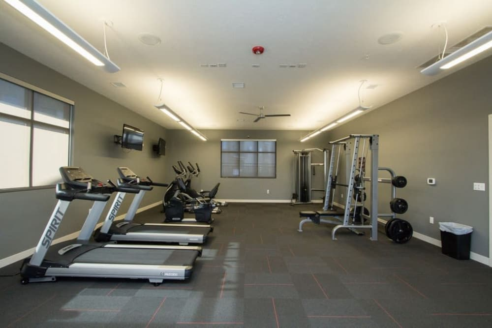 Fitness center at The Summit at Sunnybrook Village in Sioux City, Iowa