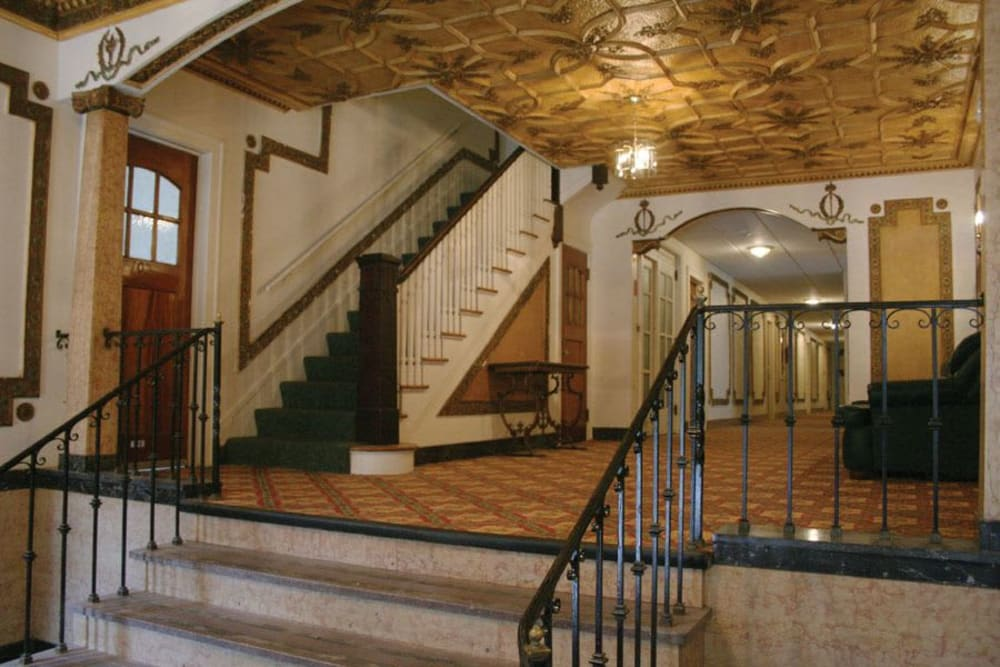 Lobby entrance at Parkwin Apartments in Rochester, New York