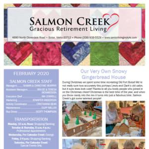 February Salmon Creek newsletter
