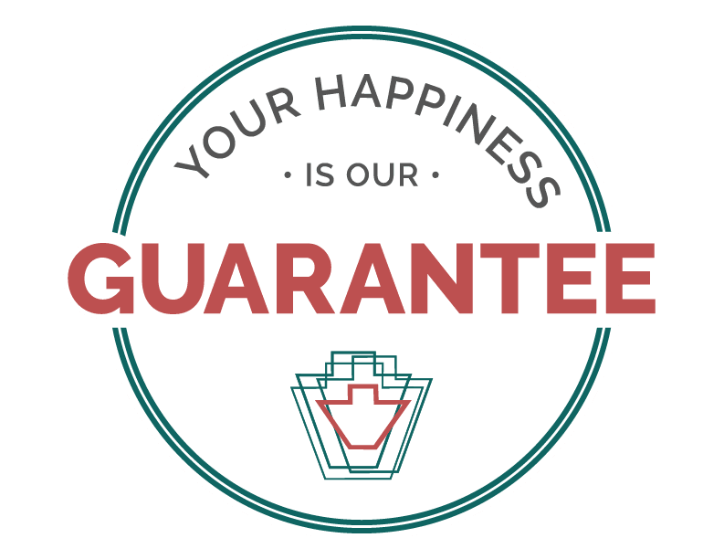The happiness guarantee at Keystone Place at LaValle Fields in Hugo, Minnesota