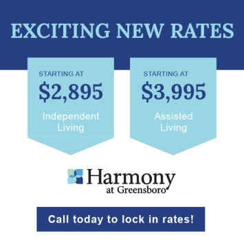 Vaccination status at Harmony at Greensboro