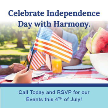 Join Us at Harmony Senior Services