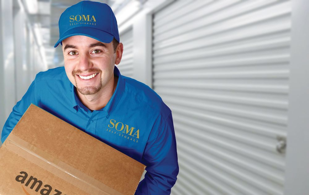 Business storage available at SOMA Self-Storage in San Francisco, California