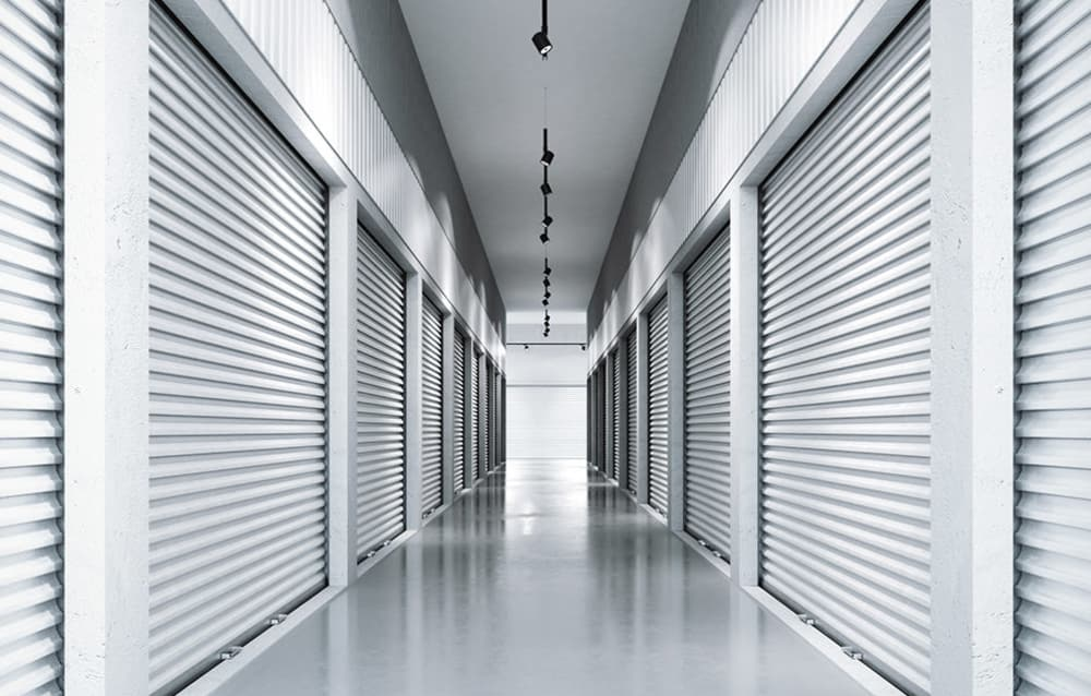 Indoor storage at Pantops Self Storage in Charlottesville, Virginia