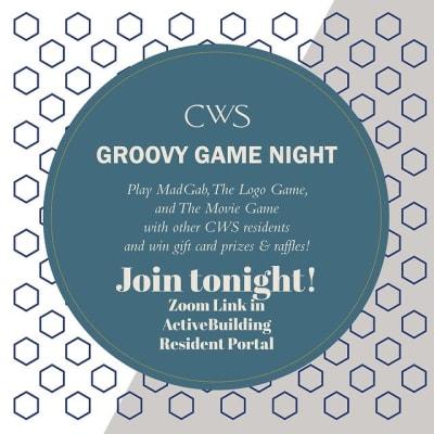 Groovy game night at Marquis at Buckhead in Atlanta, Georgia