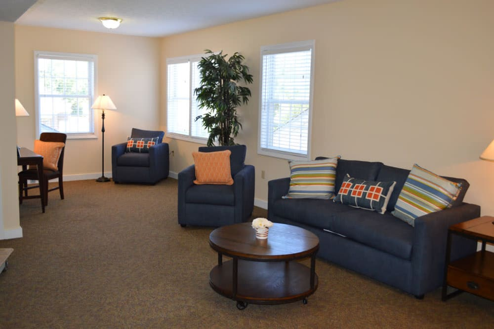 Resident living area at The Willows at Springhurst in Louisville, Kentucky