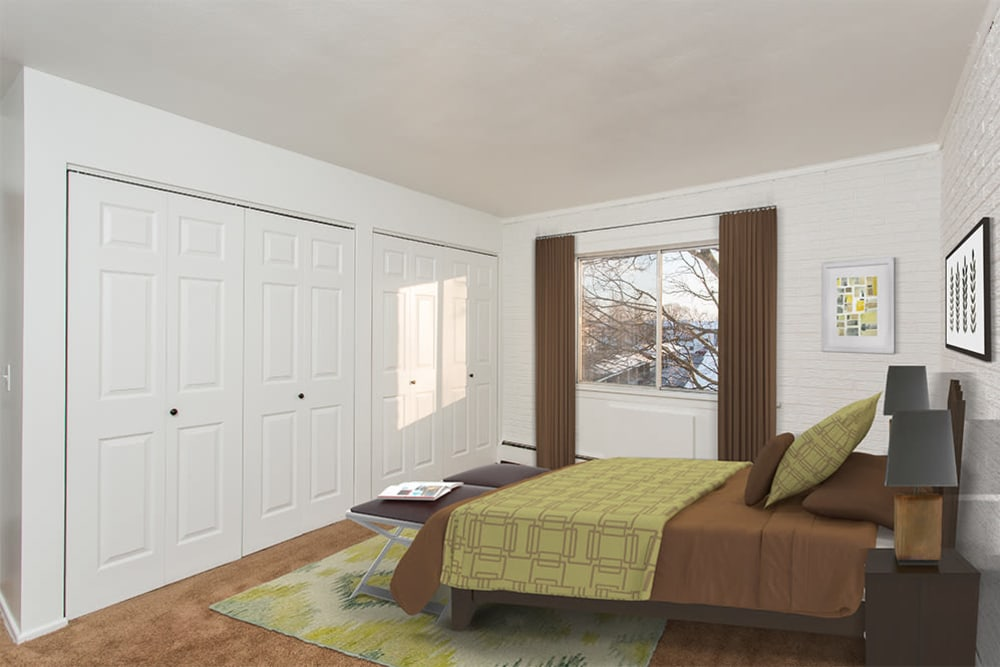 Wedgewood West offers a bedroom in Rochester, New York