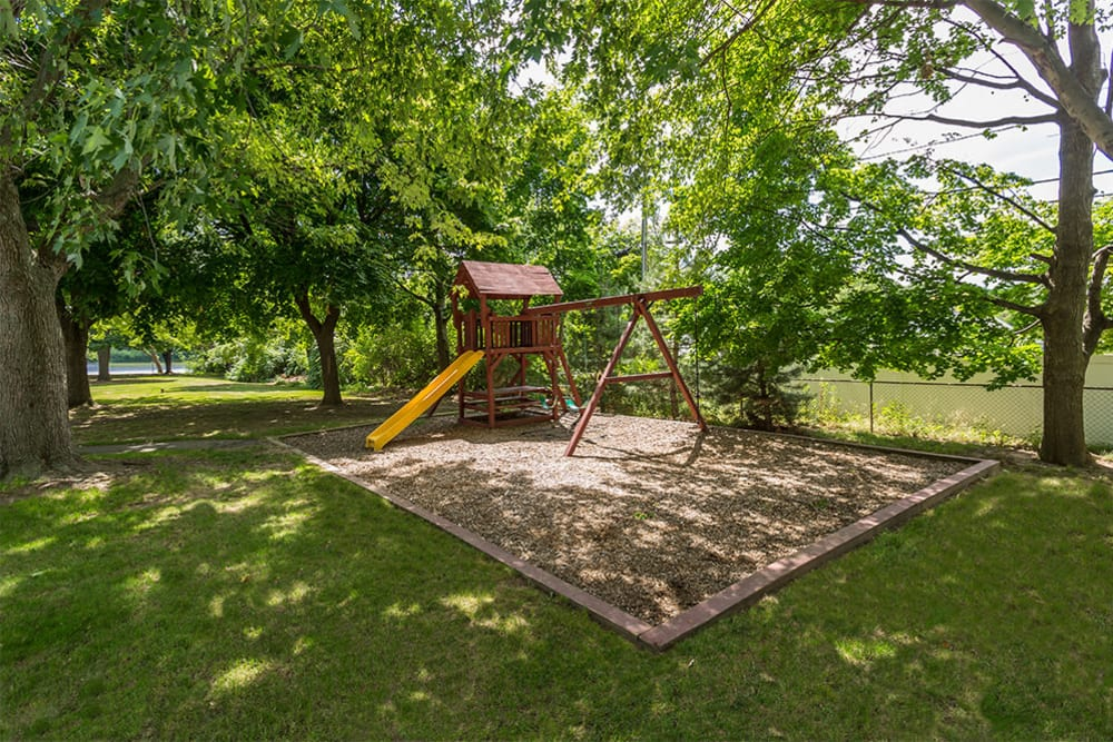 Playground at Wedgewood West in Rochester, New York